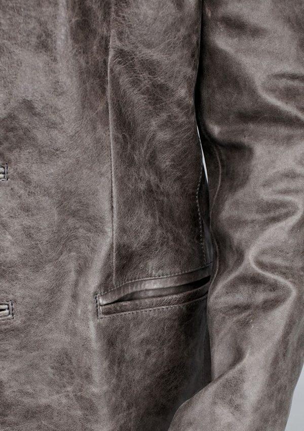 мужской кожаный пиджак натуральная кожа Alberto.ru
