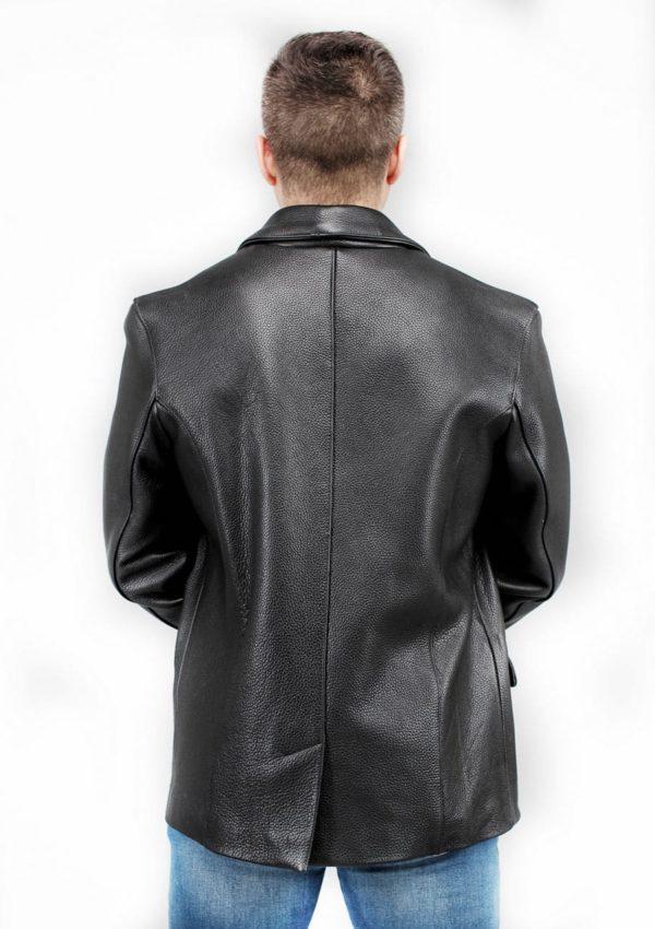 кожаный пиджак мужской классический Alberto.ru