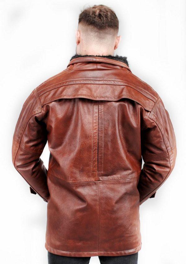зимняя кожаная куртка мужская фото Alberto.ru