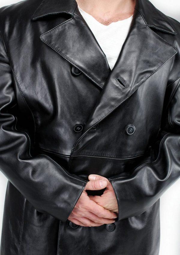 кожаный натуральный пиджак для мужчин большие размеры Alberto.ru
