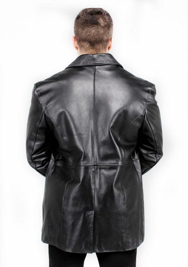 мужской кожаный пиджак весна осень натуральная кожа Alberto.ru