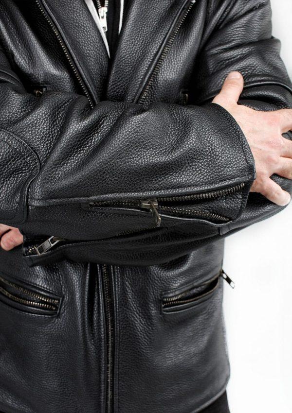 кожаная куртка из натуральной кожи фото Alberto.ru