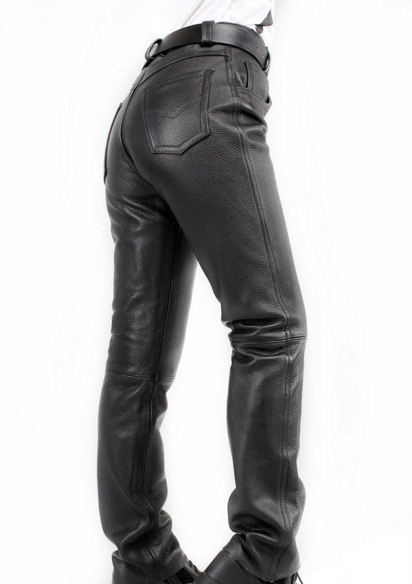 натуральные кожаные брюки женские Alberto.ru