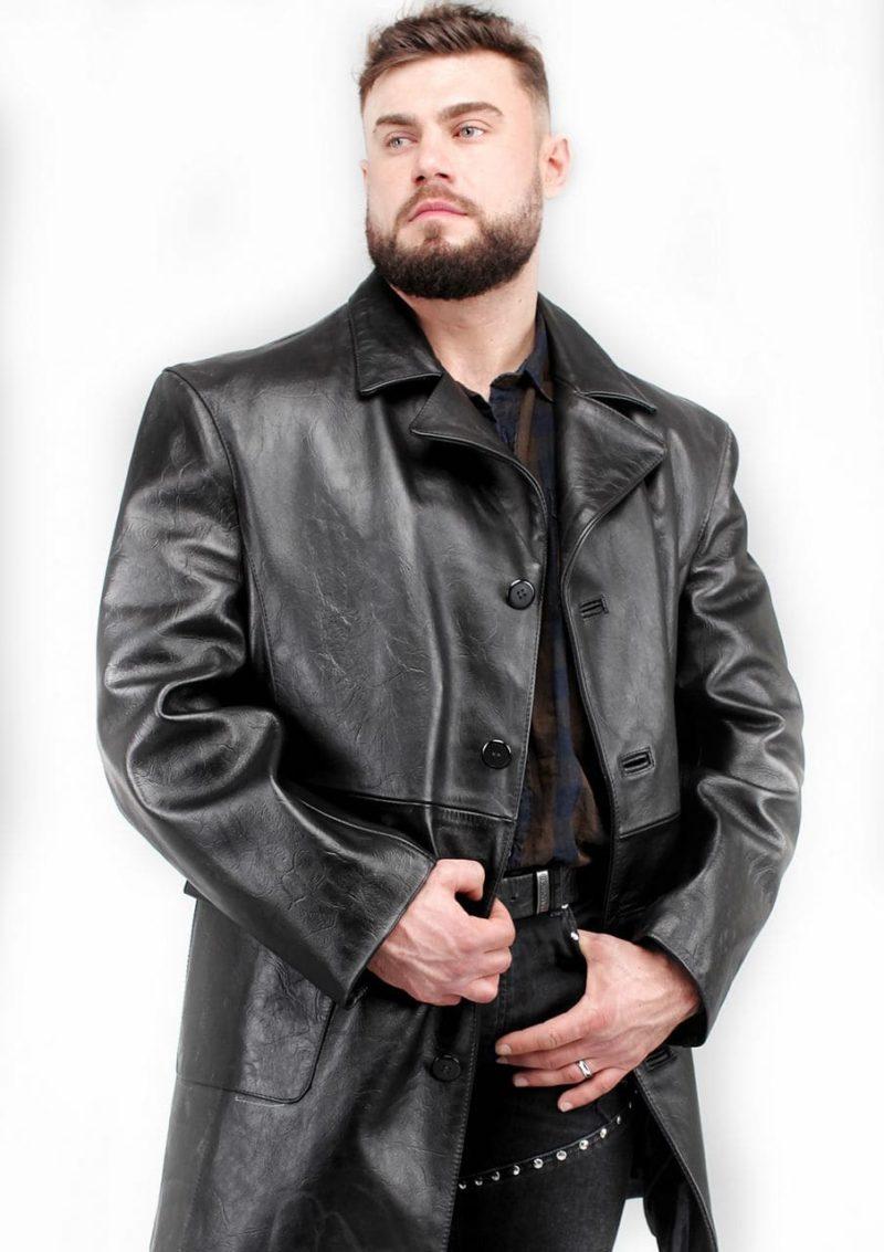 мужской кожаный пиджак большие размеры Alberto.ru