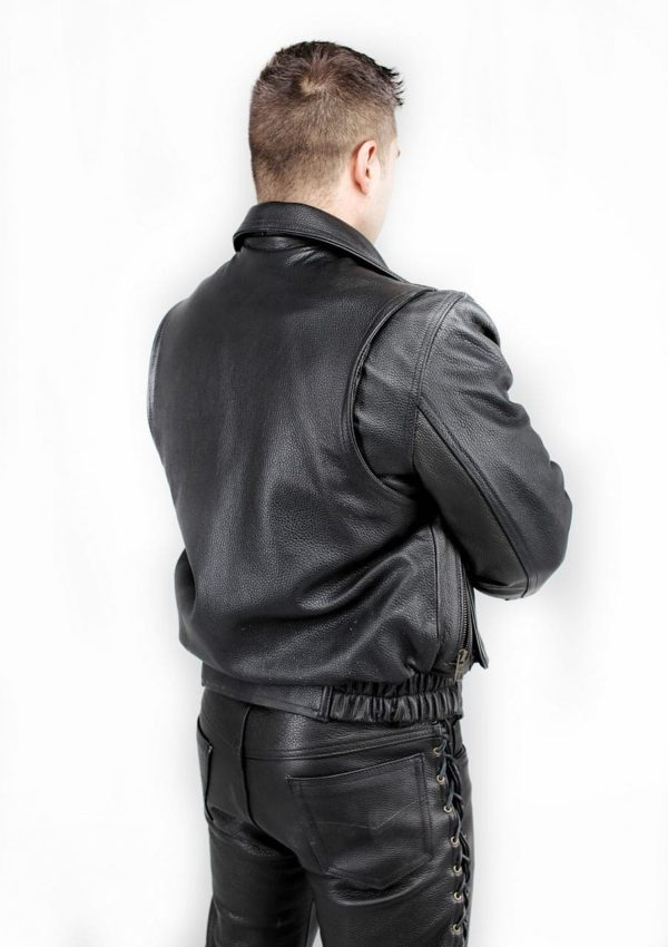 кожаная куртка мужская теплая фото Alberto.ru