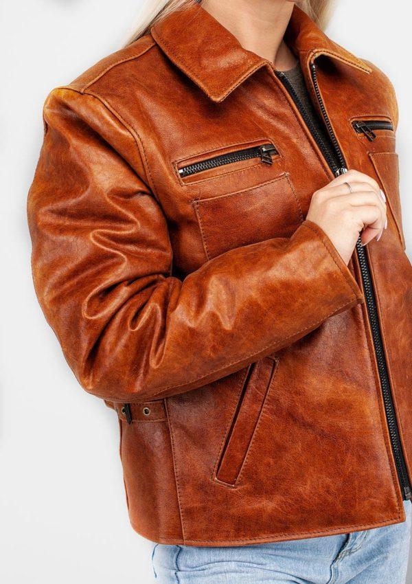 кожаная куртка женская натуральная Alberto.ru
