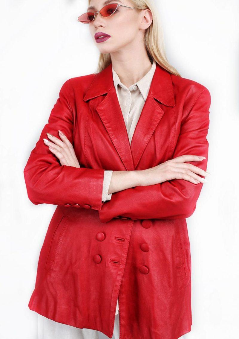 женский кожаный пиджак натуральная кожа Alberto.ru