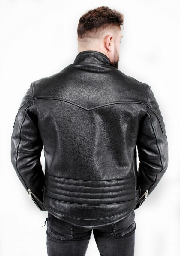 кожаная мотокуртка мужская черная Alberto.ru