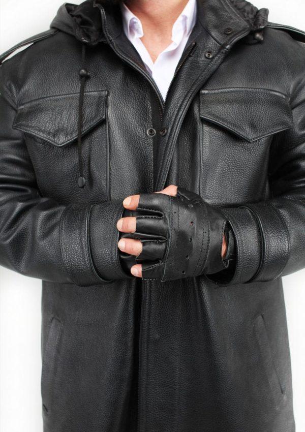 кожаная куртка мужская с капюшоном Alberto.ru