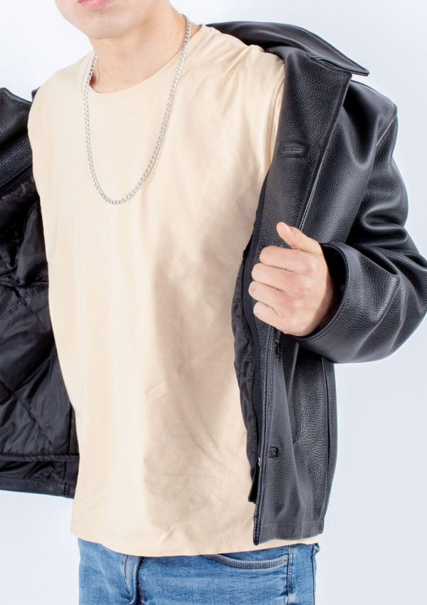 кожаная куртка мужская черная Alberto.ru