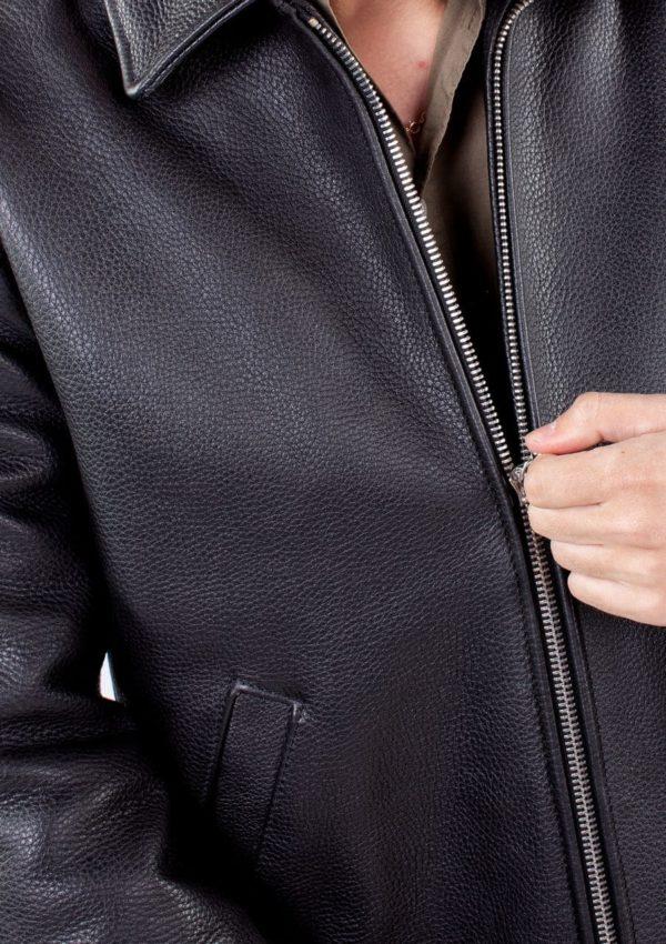 кожаная куртка мужская на молнии Alberto.ru