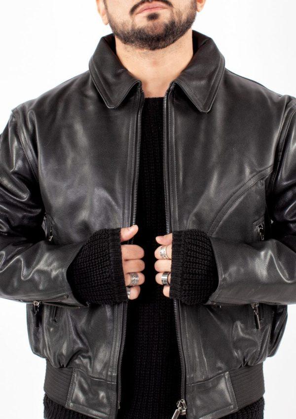 стильная кожаная куртка мужская Alberto.ru