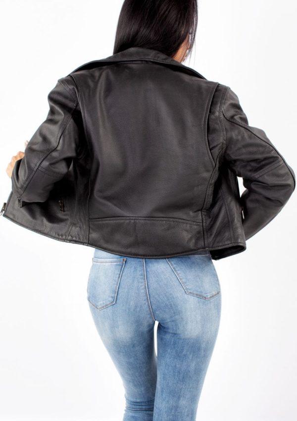 женская куртка косуха черная Alberto.ru