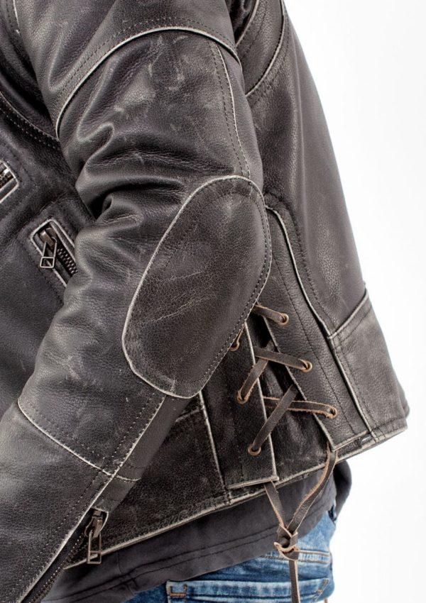 кожаная мотокуртка мужская чоппер