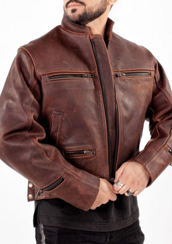 натуральная кожаная куртка мужская Alberto.ru