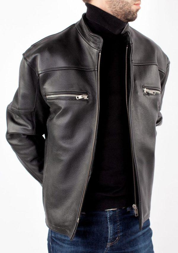 модная кожаная куртка мужская фото Alberto.ru