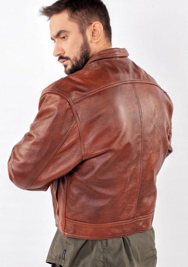 мужская кожаная куртка весна осень 2021 Alberto.ru