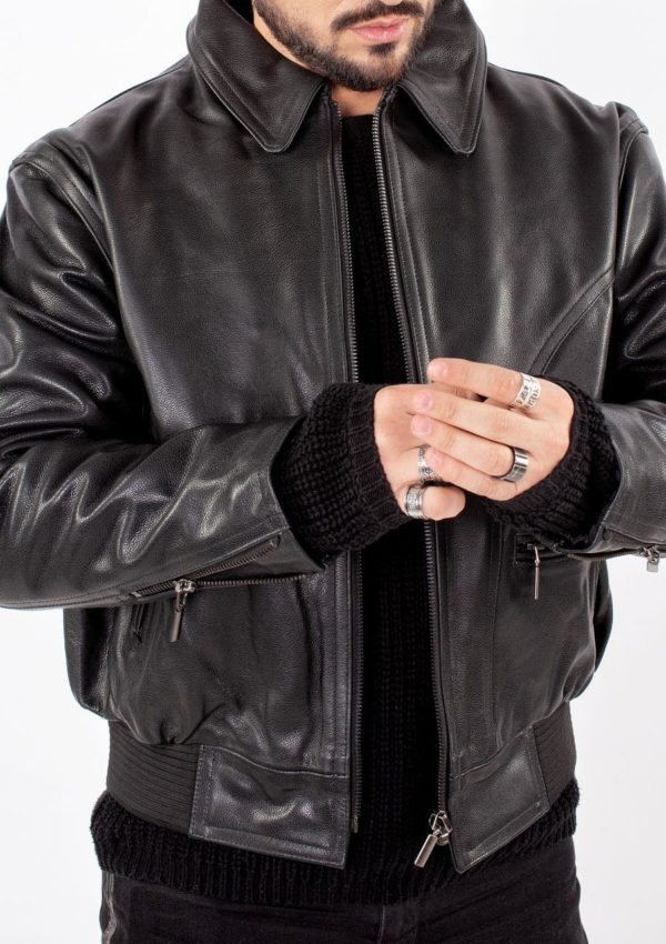 кожаная куртка мужская натуральная кожа Alberto.ru