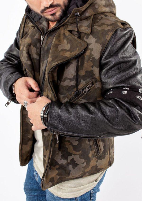 мужская косуха из натуральной кожи Alberto.ru
