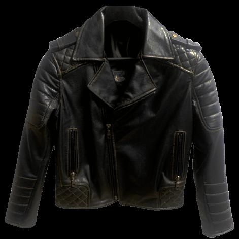 кожаная косуха с усилением для мотоциклистов Alberto.ru