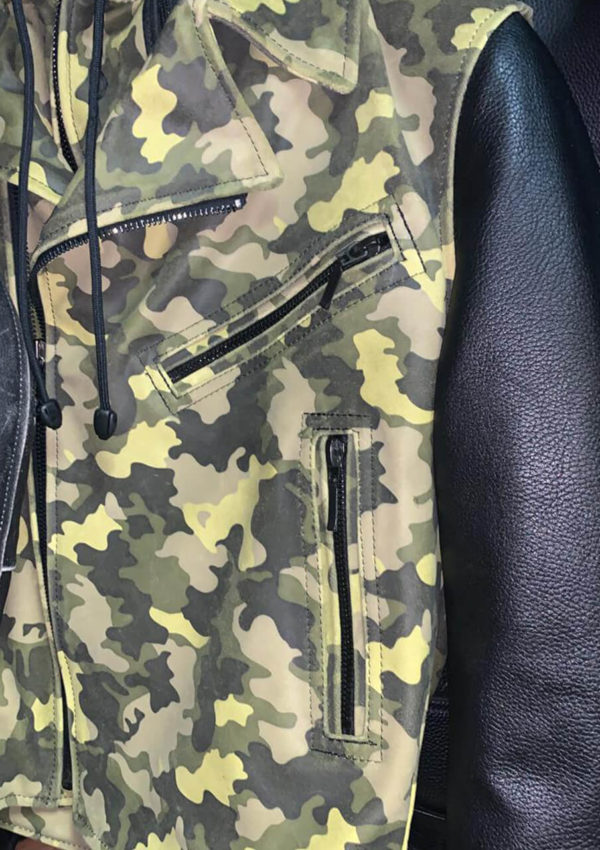 мужская кожаная куртка милитари фото Alberto.ru