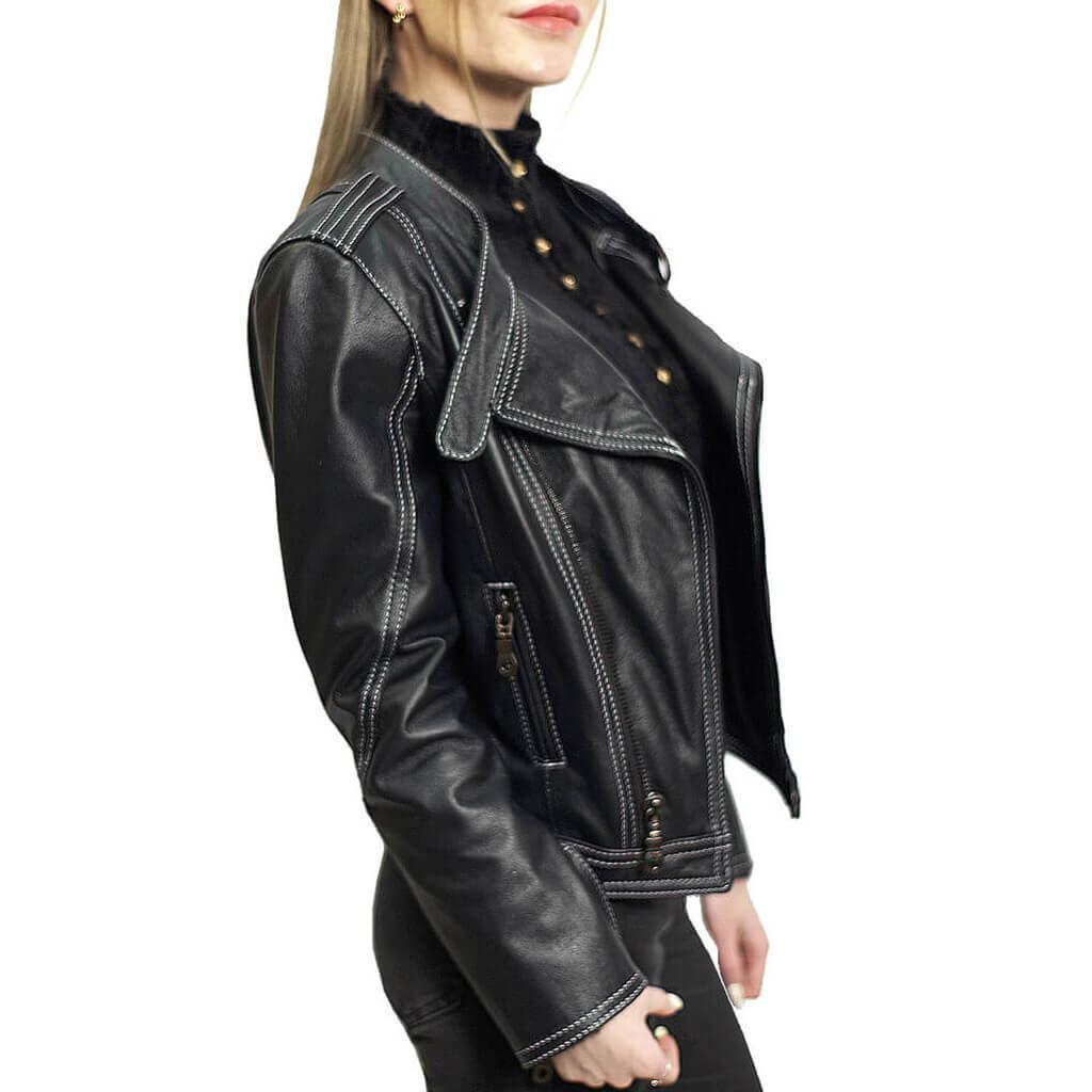 женская куртка кожа москва