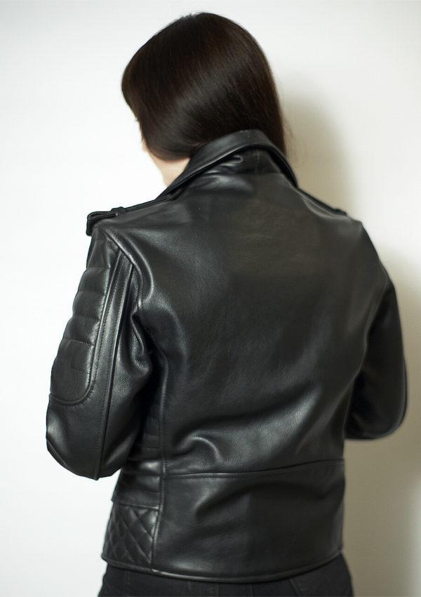черная кожаная мотокуртка женская Alberto.ru