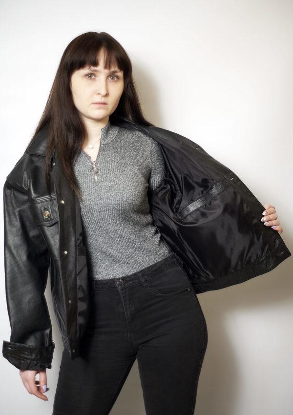 женская кожаная куртка большие размеры Alberto.ru